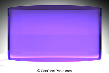 futuristic liquid crystal display panel purple - The...