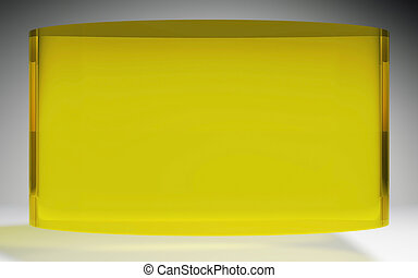 futuristic liquid crystal display panel yellow - The...
