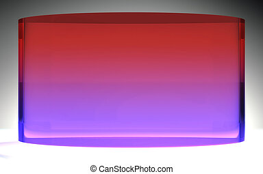 futuristic liquid crystal display purple red - The...