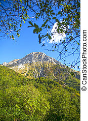 Monte Pania of the Cross - View of Mount Pania of the Cross...