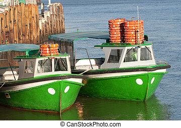 Boats, Bizkaia, Spain