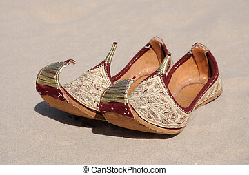 Traditional Arabic Shoes