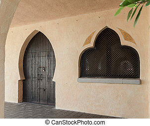 Typical geometry of the Arabic architecture.