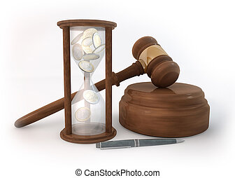 Time Hourglass of Auction - Rendering 3 Dimensions image on...