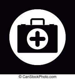 medical kit design - medical kit design, vector illustration...