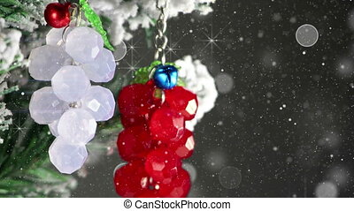 bunch of berries christmas tree