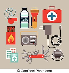 emergency service design, vector illustration eps10 graphic