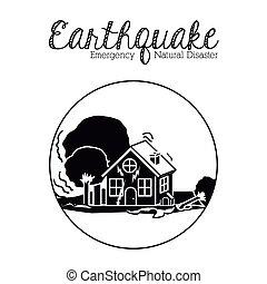 natural disaster design - natural disaster design, vector...