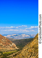 Highway 120, Inyo National Forest, California, USA - State...