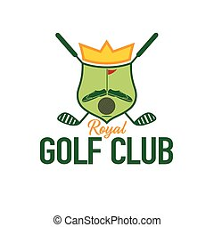royal golf club crest