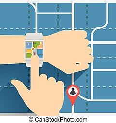 Smart Watch Navigator