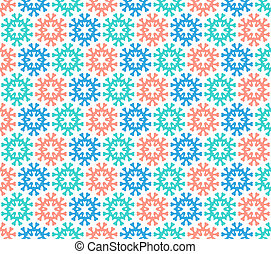 Christmas pattern on paper or fabric
