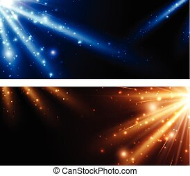 Abstract background set. - Abstract background set with...