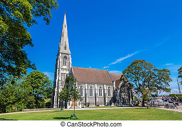 Saint Albans Church in Copenhagen - St Albans Church was...