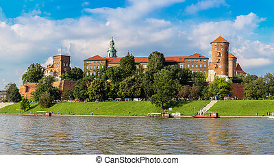 Wawel castle in Kracow - The Wawel castle in Kracow....