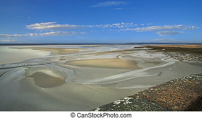 Low tide from Mont st Mitchel
