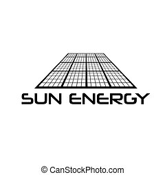Solar cell vector design template