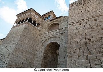Arch of Etruscans Augustus Arch in Perugia, Umbria