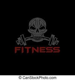 fitness skull