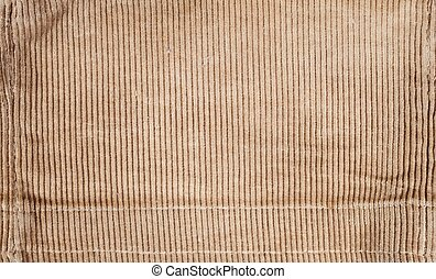 Ribbed corduroy texture, retro background - Ribbed corduroy...