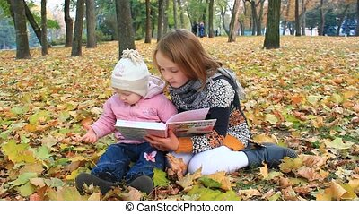 sisters read the book in the autumn
