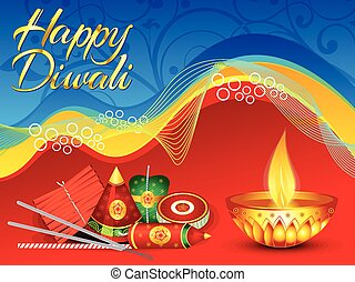 abstract colorful deepawali backgroundeps - abstract...