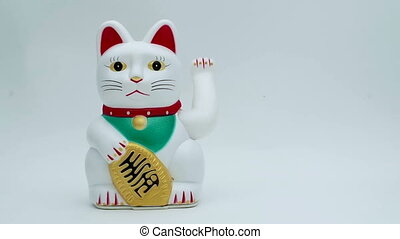 lucky or fortune cat waving for good business concepts