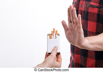 Smoking is a very bad habit for me