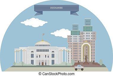 Dushanbe, Tajikistan - Dushanbe, capital and largest city of...
