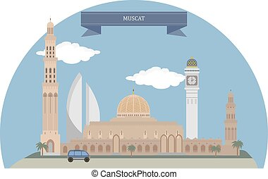 Muscat, Oman - Muscat, capital of Oman