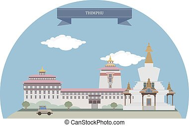 Thimphu, Bhutan - Thimphu, capital and largest city of...