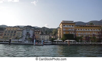 beautiful view of the Garda - View of by lake Garda, nature,...