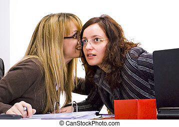 gossips - office gossips during work day