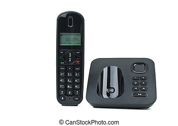 Modern cordless phone with answering machine