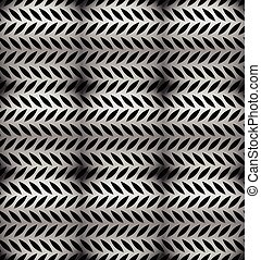 Abstract perforated, carbon fiber background, pattern....