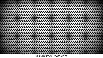 Abstract perforated, carbon fiber background, pattern...