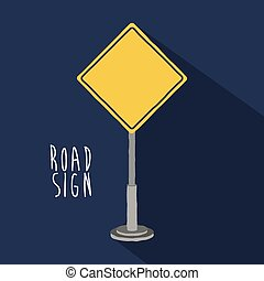road sign design