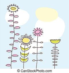 Flowers (vector)