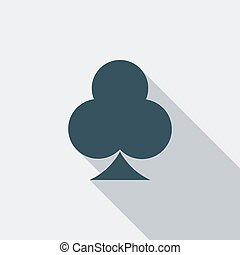 Phillips suit icon Flat vector related icon with long shadow...
