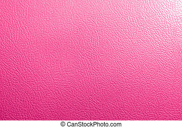 Pink leather artificial Leather texture background