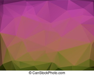 Triangular background - Cute colored abstract wallpaper with...
