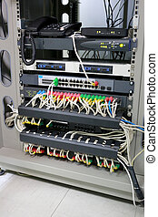 Control cabinet network system - Control cabinet network...