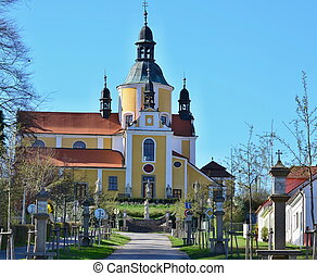 Church of the Assumption of the Virgin Mary in Chlum u...