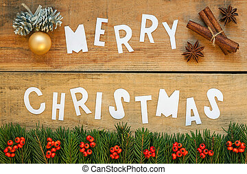 merry christmas with background