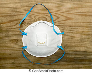 Respirator - Industrial respirator with valve protects...