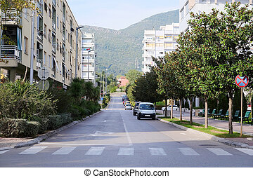 Tivat embankment - Landscape with the image of Tivat...