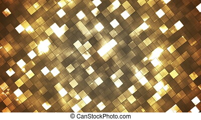 Broadcast Twinkling Fire Light Diamonds, Brown, Abstract, Loopable, HD