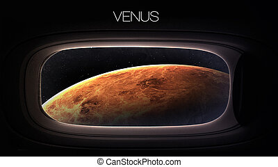 Vénus, -, beauté, de, solaire, système, Planète, dans,...