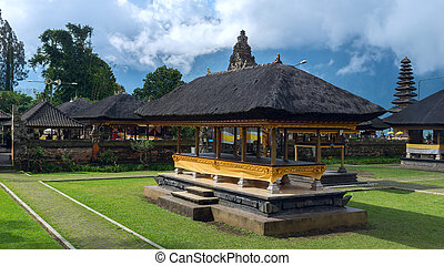 Famouse temple in island Bali