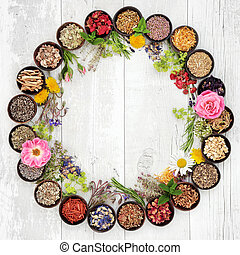 Medicinal Flowers and Herbs - Natural flower and herb...